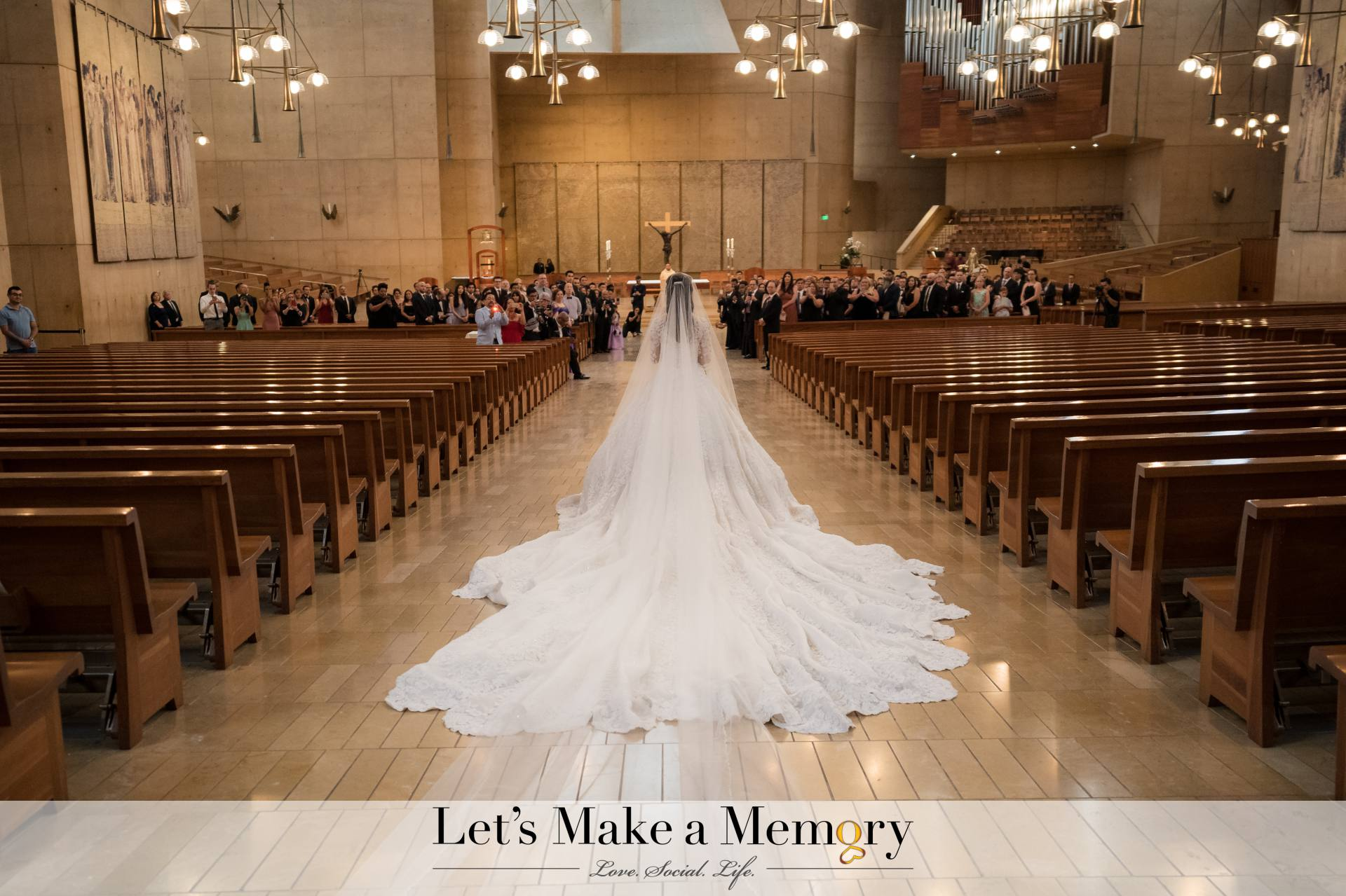 Epic Wedding at Cathedral of Our Lady of The Angels Wedding