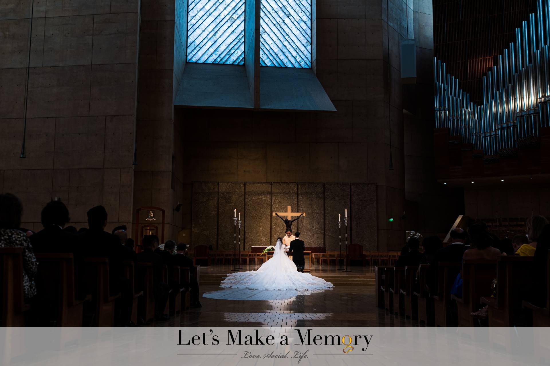 Anna Maria and Scott LA Wedding