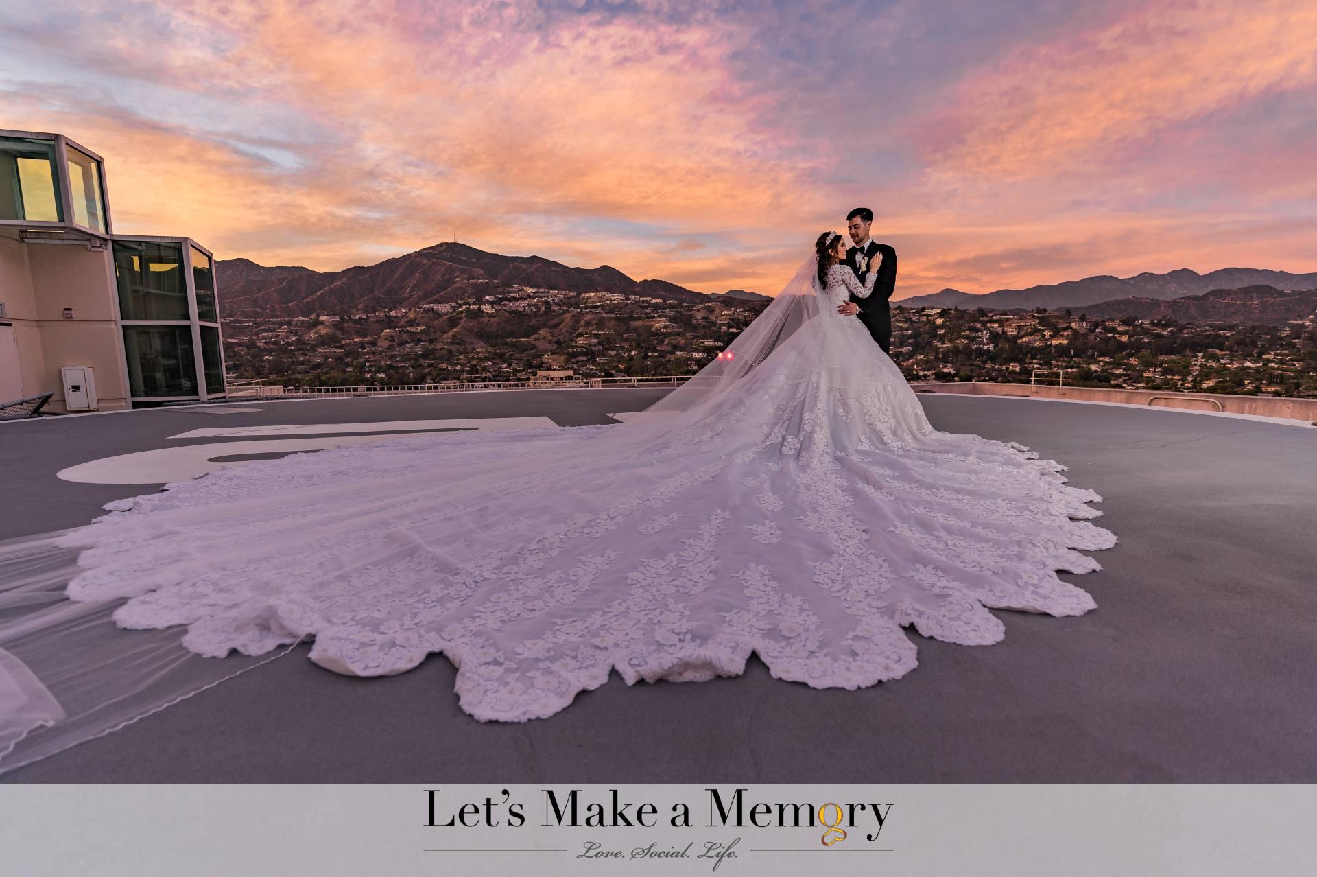 Anna Maria and Scott Wedding Hilton Glendale