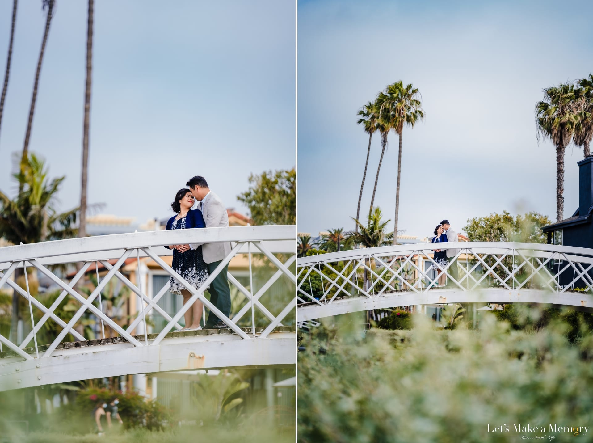 Romantic Engagement Session at Venice Canal
