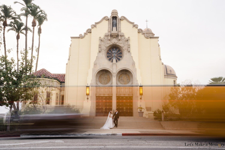 South Pasadena Catholic Wedding